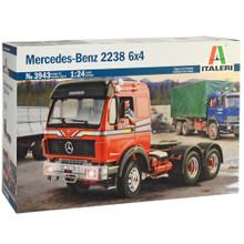 ITALERI MB 2238 6X4 TRUCK