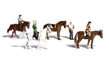 Horseback Riders - HO Scale