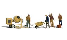 Masonry Workers - HO Scale
