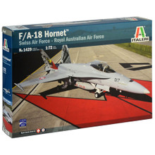 ITALERI F/A-18 WITH AUSTRALIAN DECALS 1:72