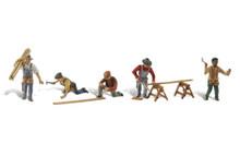 Carpenter Crew - HO Scalee