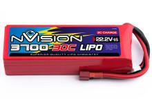 nVision LiPo 6s 22.2V 3700 30C