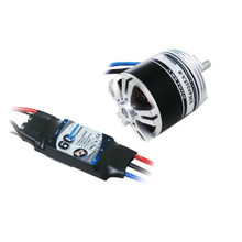 Dualsky 50E Tuning Combo with 4255EA-6 590kv Motor and 60A ESC