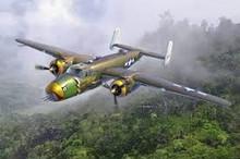 "ACADEMY 12328 1/48 USAAF B-25D ""PACIFIC THEATRE"" PLASTIC MODEL KIT"