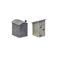 HORNBY LINESIDE HUTS (2 PACK)