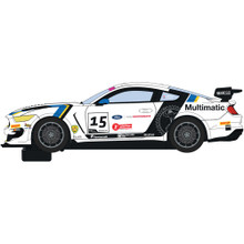 SCALEXTRIC FORD MUSTANG GT4 - BRITISH GT 2019 - MULTIMATIC MOTORSPORTS