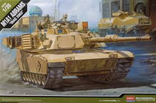 "ACADEMY 13202 1/35 M1A1 ABRAMS ""IRAQ 2003"" PLASTIC MODEL KIT *AUS DECALS*"