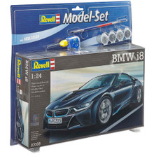 REVELL BMW I8 Includes paint, glue & paint brushes