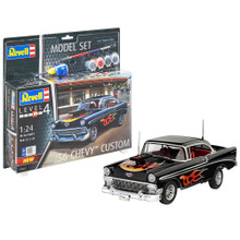 REVELL '56 CHEVY CUSTOMS Includes paint, glue & paint brushes