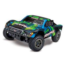 TRAXXAS SLASH ULTIMATE 4X4 BRUSHLESS SHORT COURSE RACE TRUCK - GREEN