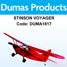 DUMAS 1817 40 INCH STINSON VOYAGER R/C ELECTRIC POWERED