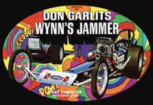 AMT DON GARLITS WYNNS JAMMER DRAGSTER 1:25 SCALE MODEL KIT