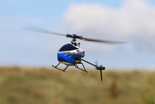 Twister Ninja 250 Blue Flybarless Helicopter 6 Axis Stabilization & Altitude Hold