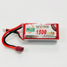 NXE 11.1v 1500mah 30c Soft case w/Deans