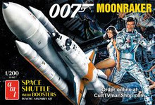 AMT 1:200 MOONRAKER SHUTTLE W/BOOSTERS -JAM
