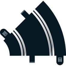SCALEXTRIC INNER CURVE 45DGR ( 2 pce )
