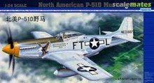 TRUMPETER 02401 1/24 NORTH AMERICAN P-51D MUSTANG IV