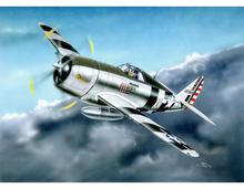 TRUMPETER 1/32 P-47D RAZORBACK FIGHTER PLASTIC MODEL KIT
