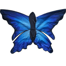 HobbyWorks Kite Butterfly 1.24mte Single Line blue