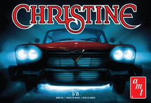 AMT CHRISTINE 1958 PLYMOUTH FURY - RED 1:25 SCALE MODEL KIT