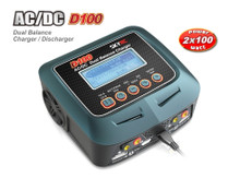 D100 V2 AC/DC Dual Charger/PowerSupply