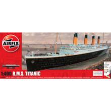 AIRFIX RMS TITANIC GIFT SET 1:400 inc paints ,glue & brush