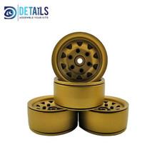 Aluminium Beadlock Crawler Wheels Bronze & Crawler Tyre 114mm Suit 1.9 Rims (4) one complete set