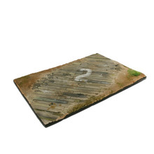 VALLEJO SCENICS 31X21 WOODEN AIRFIELD SURFACE DIORAMA BASE