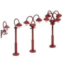 PECO RATIO SWAN NECKED LAMPS (9 PER PACK)