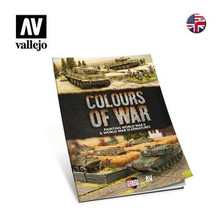 VALLEJO 75013 COLOURS OF WAR BOOK - PAINTING WWII & WWIII MINIATURES