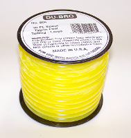 DUBRO 898 5/32in I.D. TYGON TUBING,( 4 FOOT MIN)