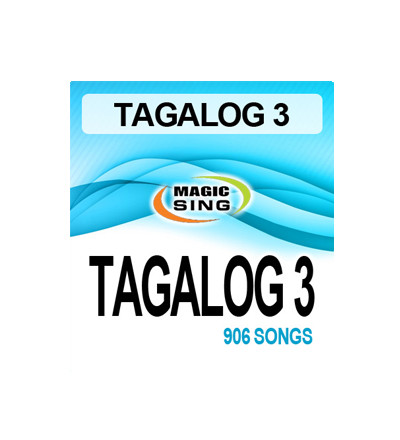 Magic Sing Tagalog 3 Song Chip (20 Pins) song chip