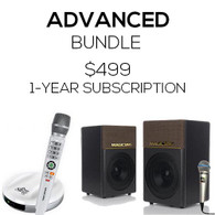 Advanced Bundle Magic Sing E2+KP650 Speakers + 1 Year Card