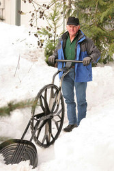 SOLD OUT! The Wovel - World's Safest and Fastest Manual Snow Shovel