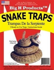 Big H Snake Traps - 2 Extra Large Glue Traps