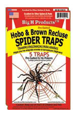 BigH ProductsTM Hobo & Brown Recluse Spider Trap - 2 packages 5 each