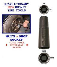 The Shop Socket - 4 in 1 socket