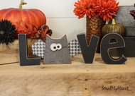"Unfinished ""O"" Letter - LOVE Series (Bat)"