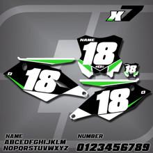Kawasaki X7 Number Plates