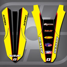 Suzuki MX4 Fender Set