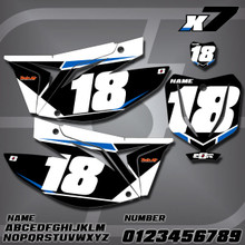 TM X7 Number Plates