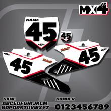 Yamaha MX4 Number Plates