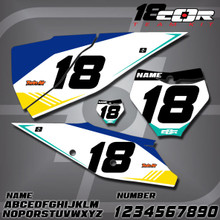 KTM CorTeam Number Plates