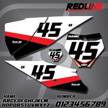 KTM Redline Number Plates