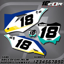 Kawasaki CorTeam Number Plates