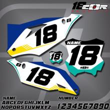 Kawasaki CorTeam Number Plates