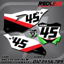 Kawasaki Redline Number Plates