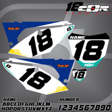 Honda CorTeam Number Plates