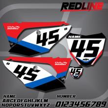 Honda Redline Number Plates