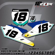 Yamaha CorTeam Number Plates
